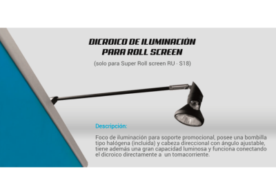 Display Tipo Roll Screen - Modelo 1